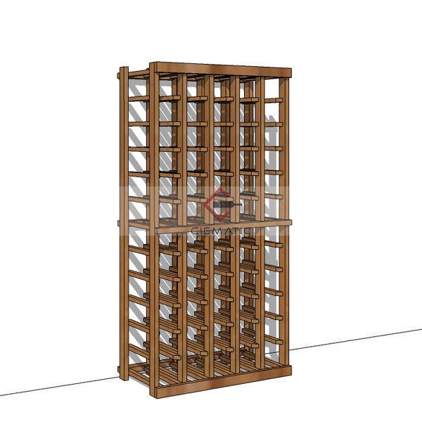 Modular wine rack kits