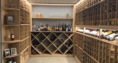 Custom wine cellar melbourne CR801
