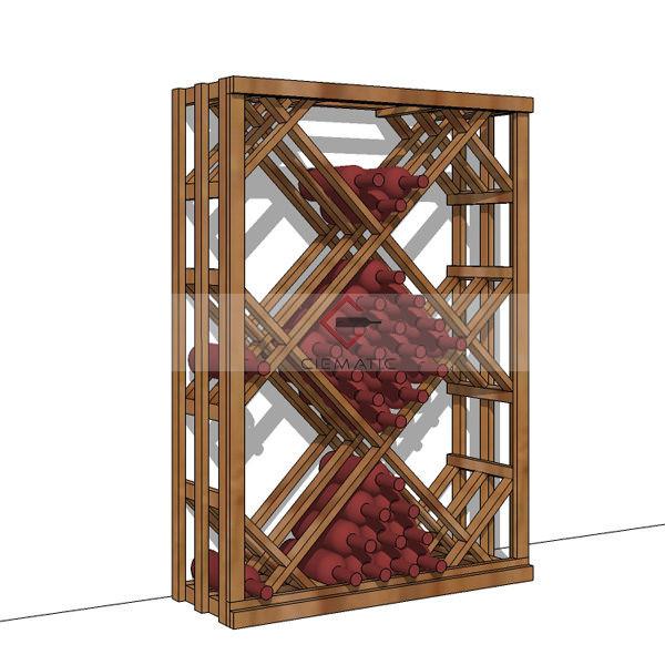 diamond bins wine racking kits