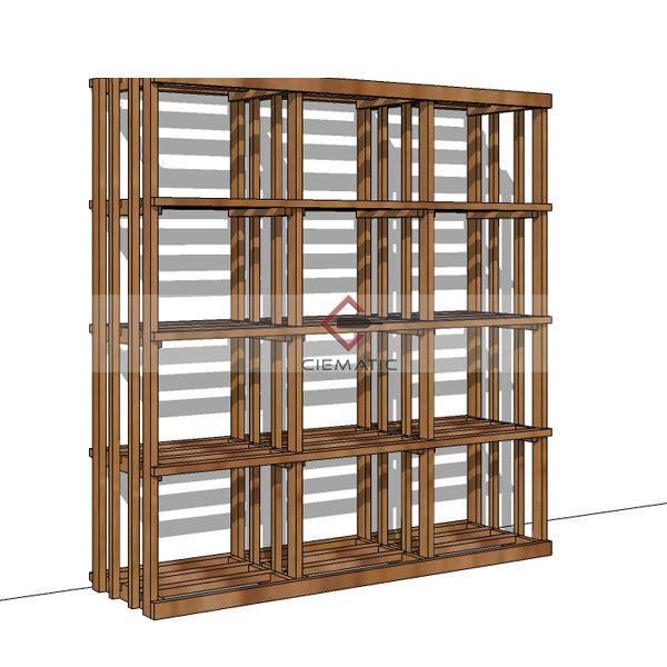 shelf wine racking kits CR168