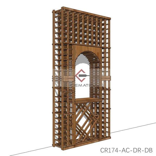arch wine rack kits
